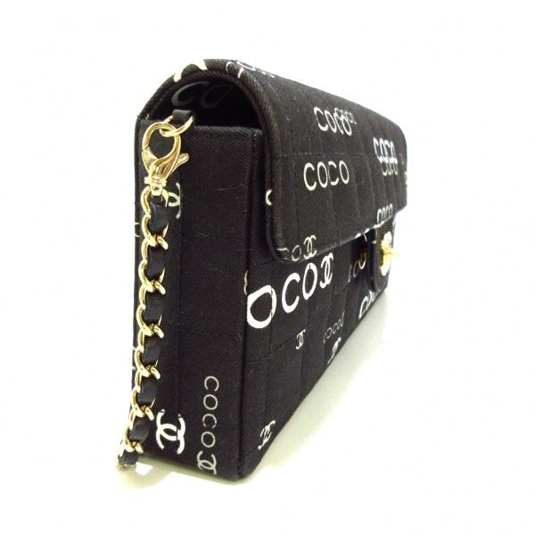 シャネル レディース チョコバー A15316 黒×アイボリー×グレー 2