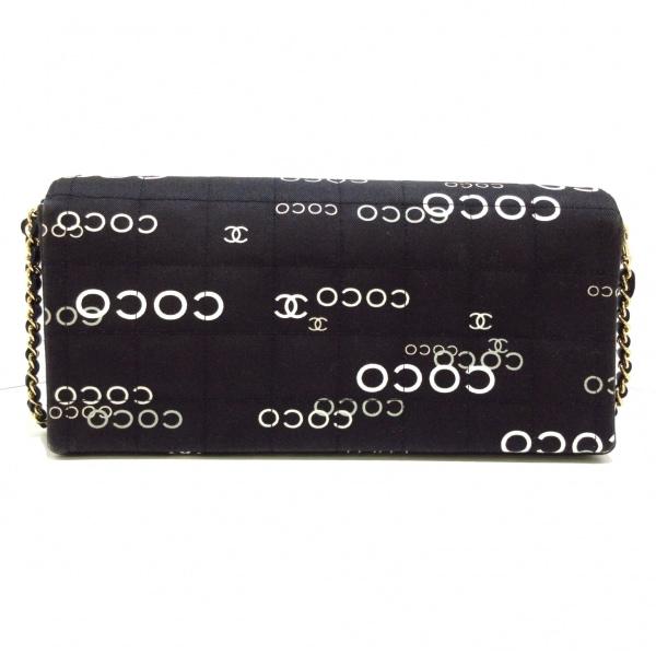 シャネル レディース チョコバー A15316 黒×アイボリー×グレー 3