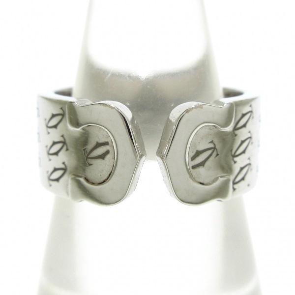 Cartier(カルティエ) リング 52美品  2C K18WG 2000年クリスマス限定 1