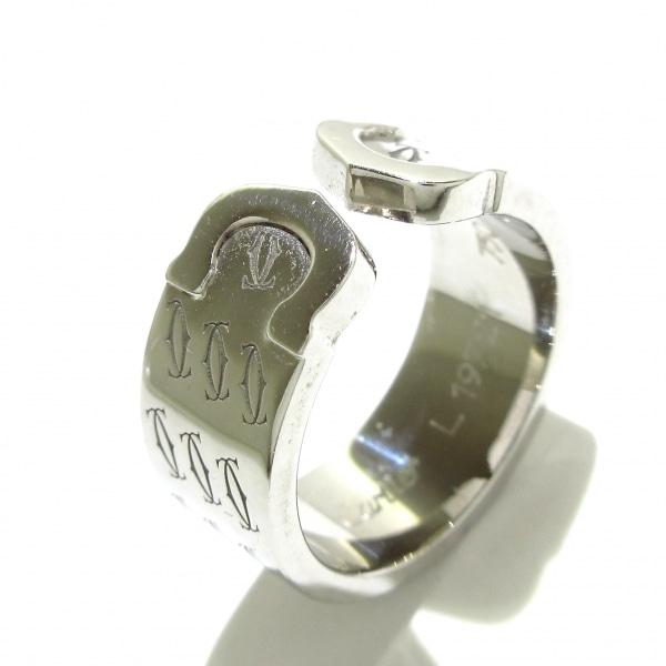 Cartier(カルティエ) リング 52美品  2C K18WG 2000年クリスマス限定 8