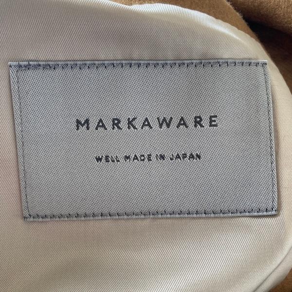 マーカウェア コート サイズ2 M メンズ - ライトブラウン 長袖/秋/冬 3