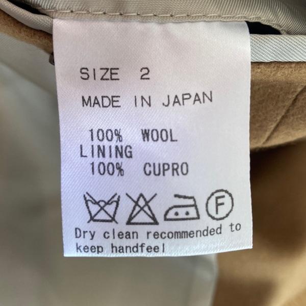 マーカウェア コート サイズ2 M メンズ - ライトブラウン 長袖/秋/冬 4